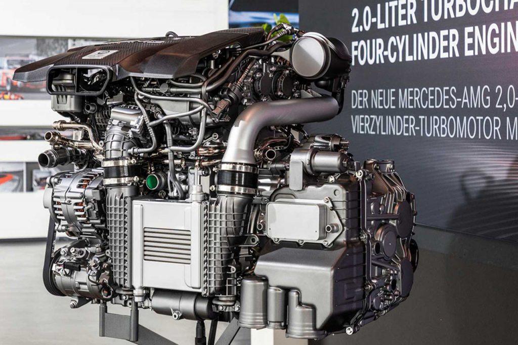 最強4缸Mercedes-AMG M139不只小車能用縱
